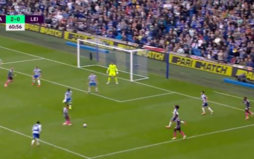 GOAL: Vardy brengt Leicester terug in de match na subtiele assist van Tielemans