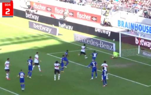GOAL: Mangala met zijn eerste van het seizoen, maar VfB Stuttgart verliest thuis