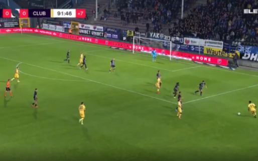 GOAL: De Ketelaere bezorgt Club Brugge de volle buit bij Sporting Charleroi