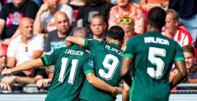 Feyenoord vernedert PSV voor eigen publiek, invaller Dessers met assist en goal