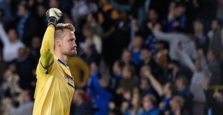 Clement looft Mignolet: Hij heeft inderdaad een heel goede wedstrijd gespeeld