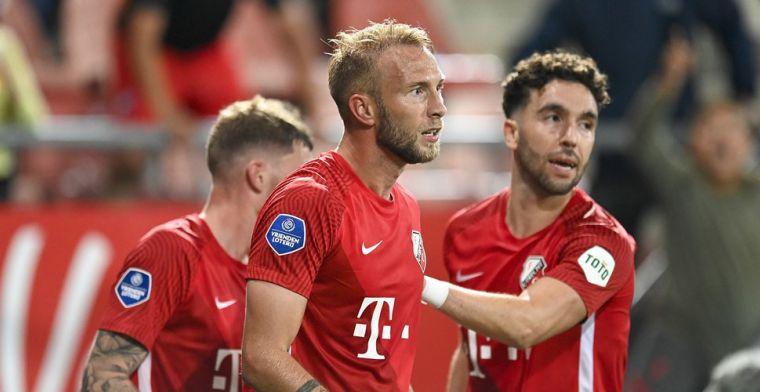 Scheidsrechter Martens over afgekeurde Utrecht-goal: 'Bewuste handsbal'