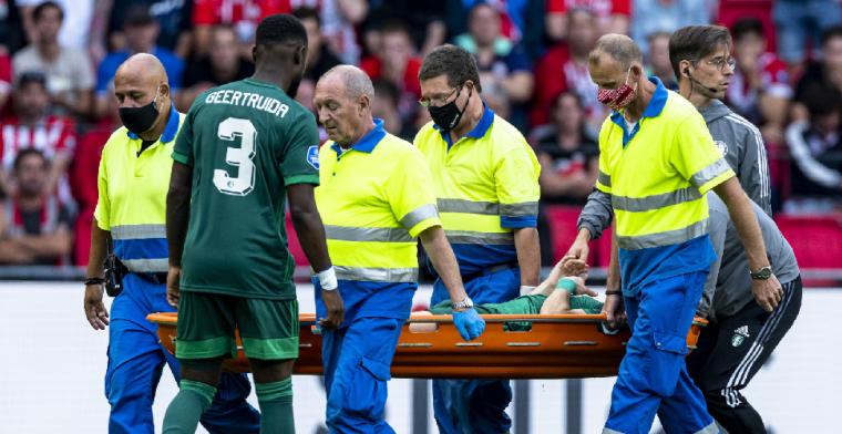 Feyenoord-trainer Slot komt na afloop met goed nieuws over Pedersen
