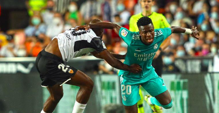 Real Madrid grijpt La Liga-koppositie door bizarre comeback bij stug Valencia
