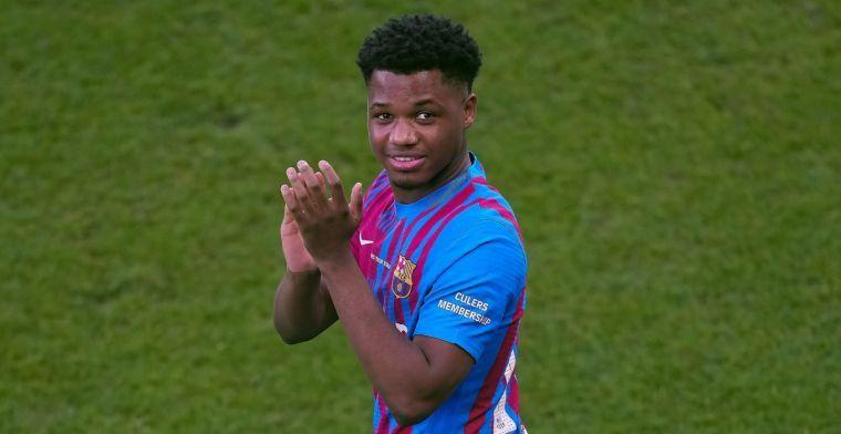 'Toekomst Fati ligt bij Barça door 'cláusula secreta' in contract van aanvaller'