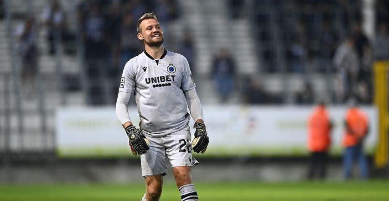 Mignolet maakt grote indruk bij Club Brugge: 'Hij leek drie meter groot'
