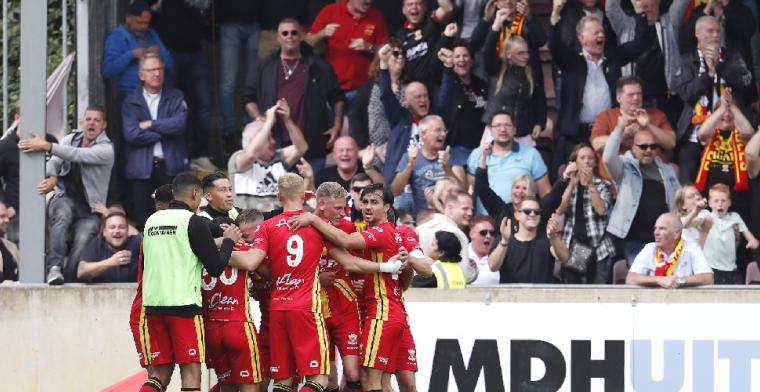 Go Ahead Eagles wint tot twee keer toe gestaakte IJsselderby van PEC