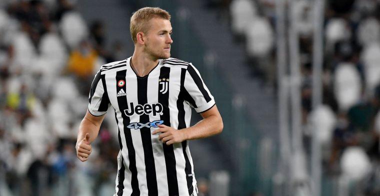 Juventus-coach Allegri geeft twee redenen voor De Ligt-reserverol in topper