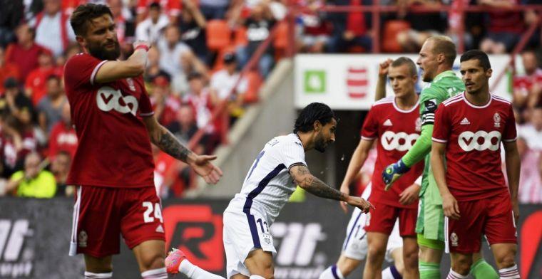 Anderlecht pakt de drie punten na nerveus duel tegen negenkoppig Standard
