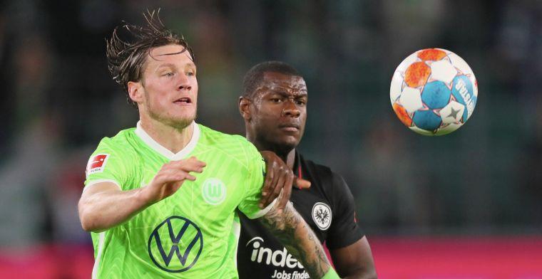 Van Bommel verliest koppositie met Wolfsburg na hoofdrollen Weghorst en Lammers