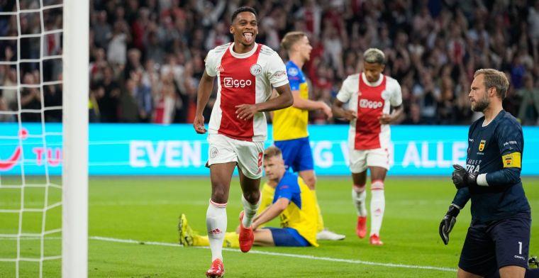 Man of the Match Timber wil maximale bij Ajax: 'Trainers hameren er ook steeds op'
