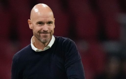 Ten Hag duidelijk bij Ajax: 'Staat zeker niet vast dat hij de nummer twaalf is'