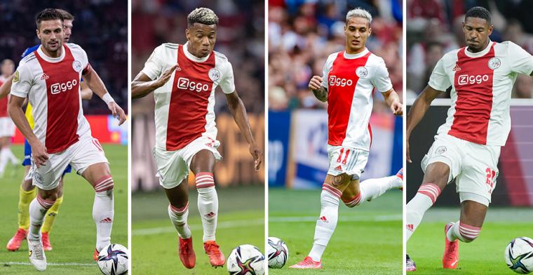 Keuzes in Ajax-voorhoede Ten Hag: vaste namen, Tadic in spits of kans nieuweling?