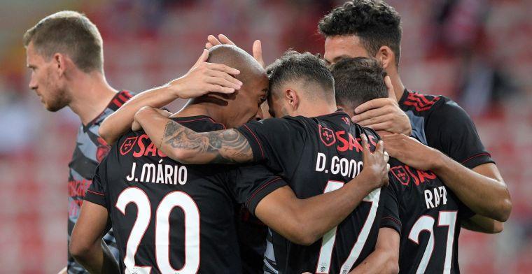 Benfica met basisklant Vertonghen blijft foutloos en zet Porto weer op vier punten
