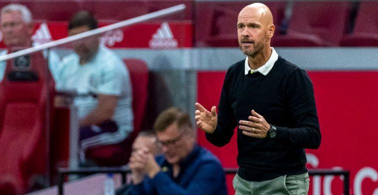 Ten Hag en Ajax doen aan 'klantenbinding': 'Niet makkelijk en vraagt wat van ons'