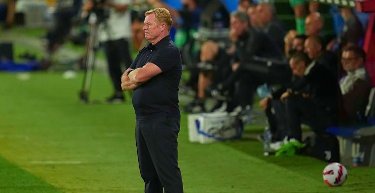 Koeman wint interne Barça-strijd 'nooit meer': 'Z'n vrouw zelfs huilend op tv'