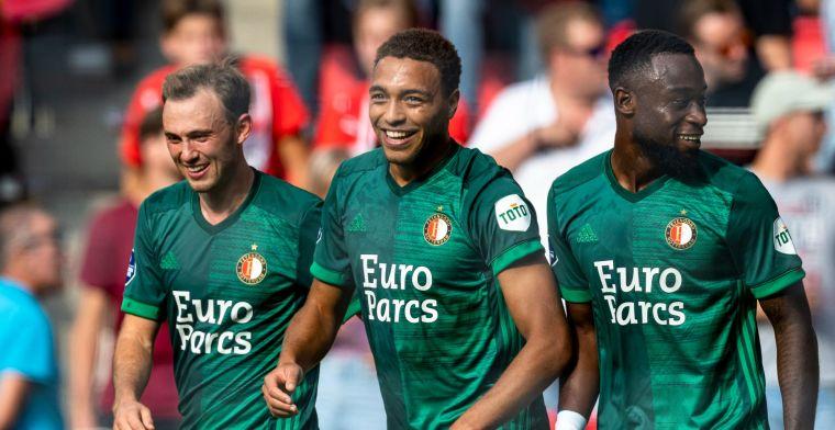 Van Basten onder de indruk: 'Heb dit Feyenoord al tijden niet meer gezien'