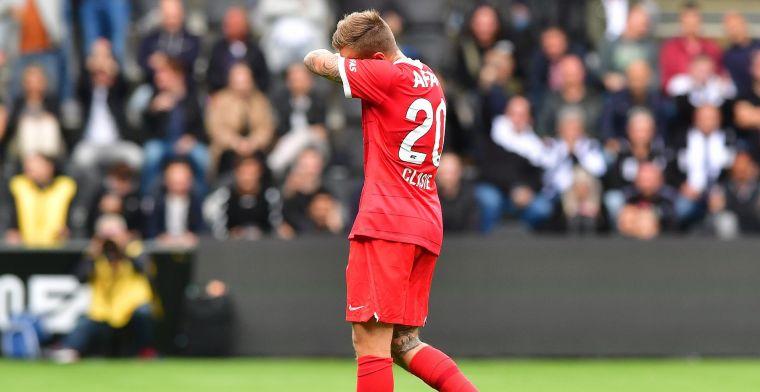 'Mijn rode kaart reken ik mezelf aan, dat mag me als ervaren speler niet gebeuren'
