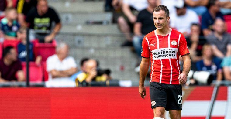 Driessen velt oordeel over Götze: 'Is speler met vlekje, speelt daarom bij PSV'