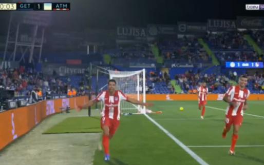 Wat zal Barcelona denken: Súarez bezorgt Atlético zege in minuut 91