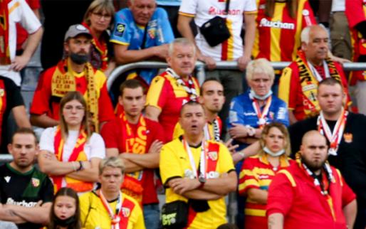 Afbeelding: 'Ook fans van Club Brugge waren aanwezig bij supporterschaos in Lens-Lille'