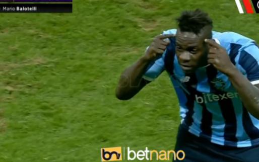 Balotelli eist weer de spotlights op en haalt gram bij Besiktas-trainer