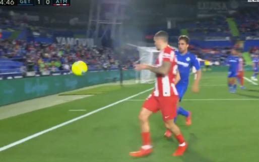 Jaime Mata (Getafe) komt met next level tijdrekken tegen Atlético