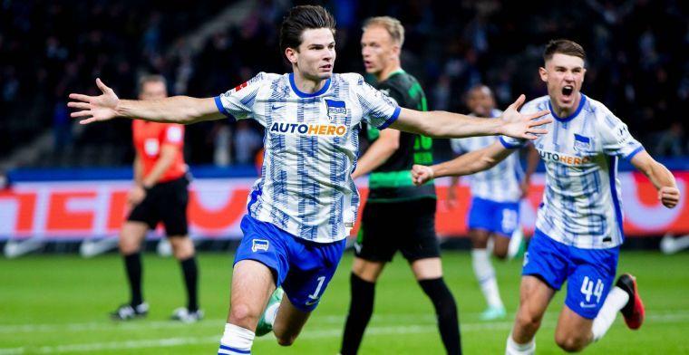 Beloning lonkt meteen voor Ekkelenkamp bij Hertha: 'We hebben hem nodig'