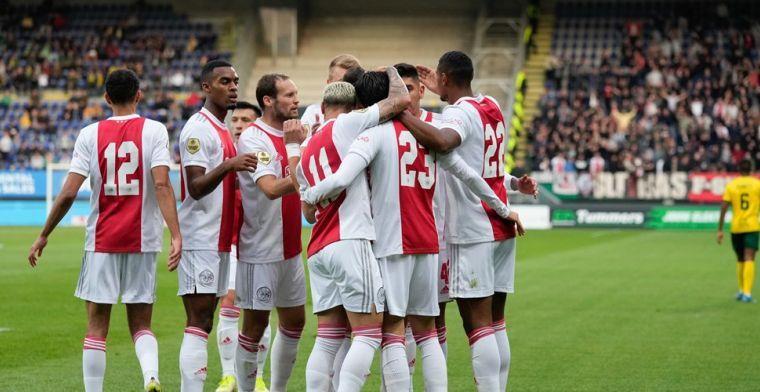 Ajax is weer veel te sterk en wint met 0-5 bij Fortuna Sittard