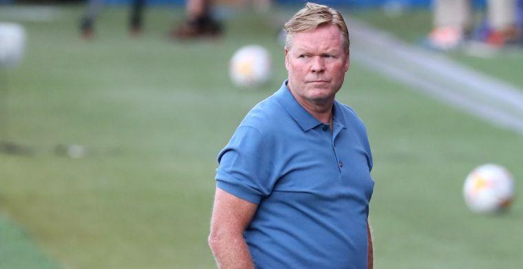 AS: Koeman niet geliefd bij Barça-selectie, 'zwaargewichten' willen frisse wind