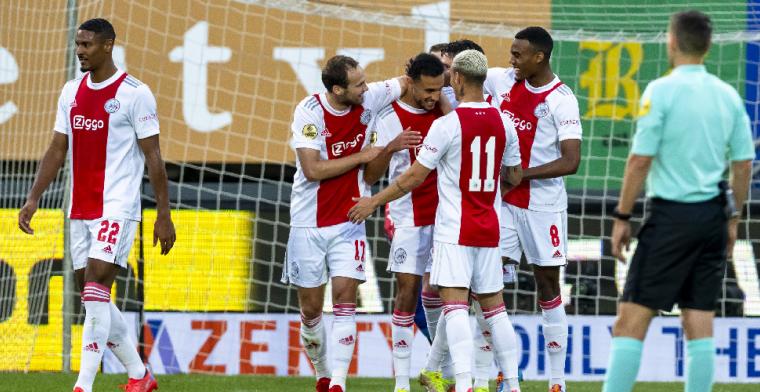 Het gaat te makkelijk voor Ajax: 'Op de training hebben ze meer weerstand'