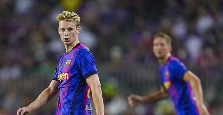 Vooral Luuk de Jong de gebeten hond na remise Barça: 'Hiervoor niet gekomen'