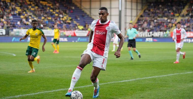 Gravenberch eerlijk na dikke Ajax-overwinning: 'Soms heb ik daar wel moeite mee'
