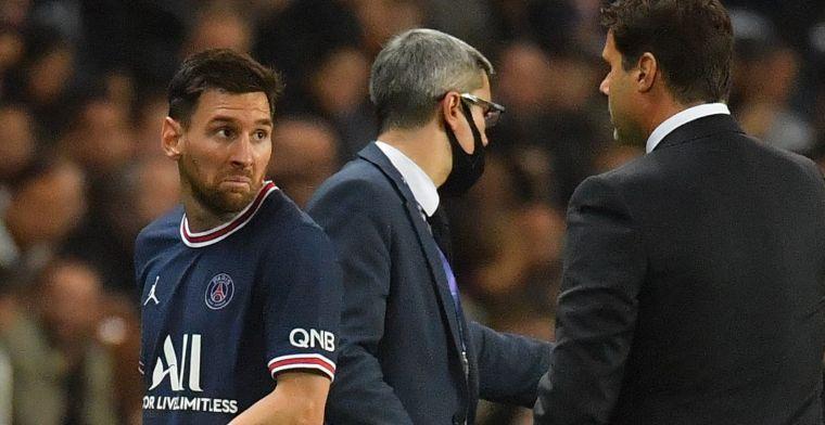 PSG zet streep door ongelukkige Messi: knieblessure maakt spelen onmogelijk