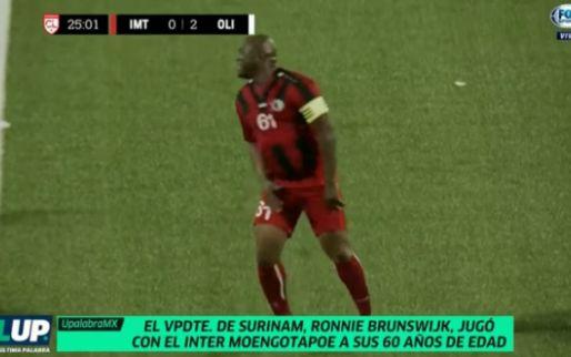 Vicepresident Ronnie Brunswijk (60) eist basisplek op in internationale wedstrijd