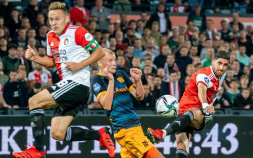 LIVE: Linssen en Til loodsen Feyenoord langs Heerenveen in eigen Kuip (gesloten)