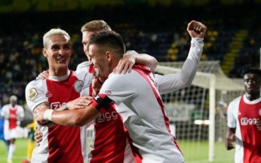 'Rupsje Nooitgenoeg' Ajax houdt weer huis: 'Bonuspunt voor op PSV en Feyenoord'