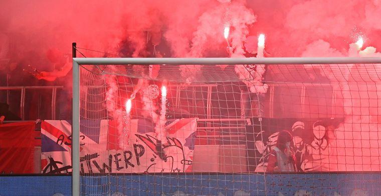 Voetbalbond deelt boetes uit: 'Antwerp, Charleroi en Gent draaien op voor fans'