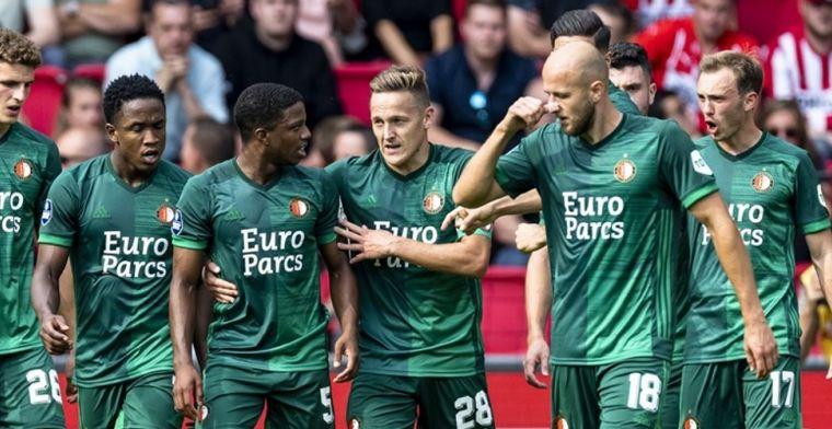 Trauner prijst nieuwe Feyenoord-maatjes: 'Alsof we een extra verdediger hebben'