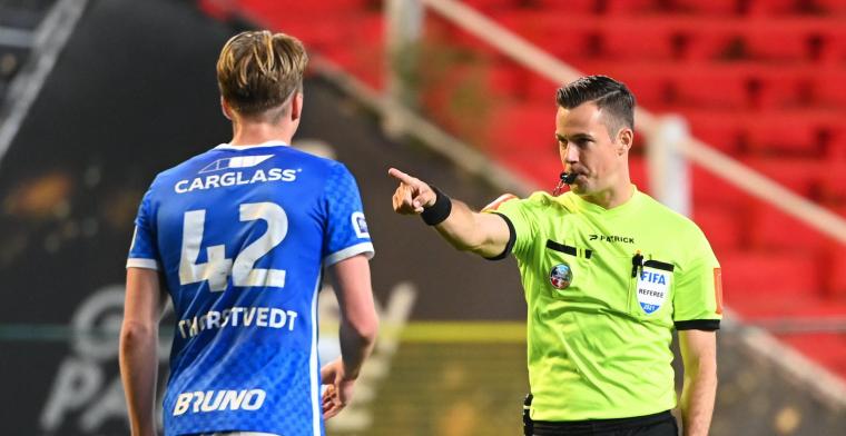 Vrije trap zorgt voor ophef in Royal Antwerp FC - KRC Genk: Incompetente ref
