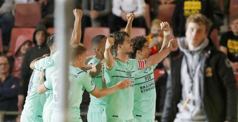 Van Ginkel hield geloof in goede afloop voor PSV: 'In voorgaande jaren ook'