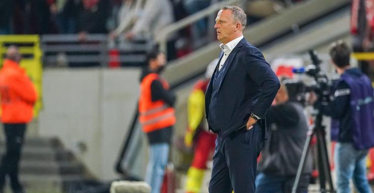 Van den Brom na nederlaag in Antwerp: Dat heeft ons de das om gedaan
