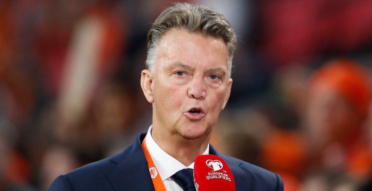 Van Gaal ziet 'hottentottenvoetbal': Dat komt dan een beetje hard over