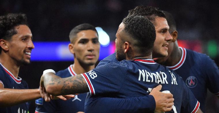 Paris Saint-Germain ontsnapt in de 95e minuut, ook Bosz' Lyon pakt zege