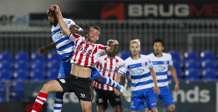 PEC Zwolle scoort eindelijk en pakt eerste puntje van het seizoen