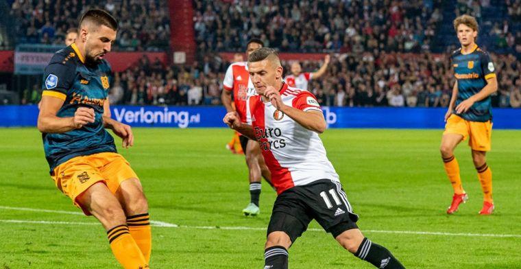 Jubileumgoal Linssen en dubbelslag Til leiden Feyenoord naar zege op Heerenveen