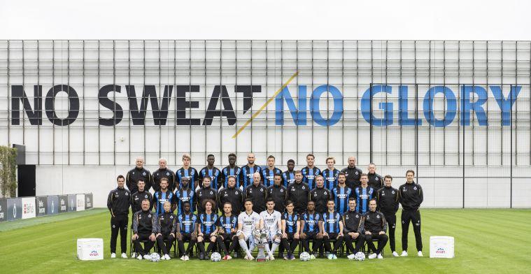 Van 20 naar 30: Club Brugge komt met nieuwe ploegfoto na zomerse make-over