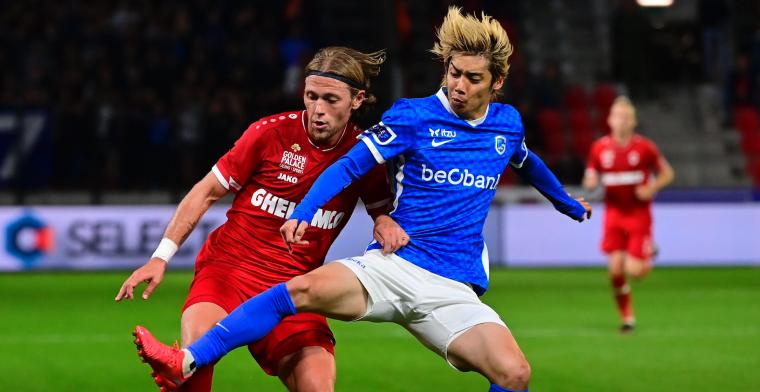 Efficiënt Royal Antwerp FC nekt opgetogen KRC Genk in doelpuntrijke wedstrijd