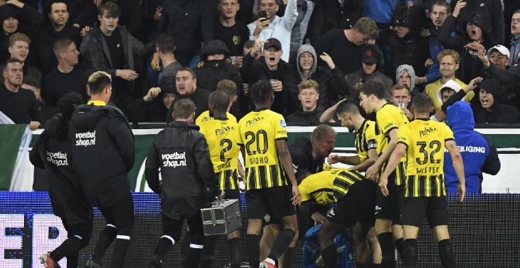 Vitesse verslaat negental van FC Groningen in bizarre wedstrijd