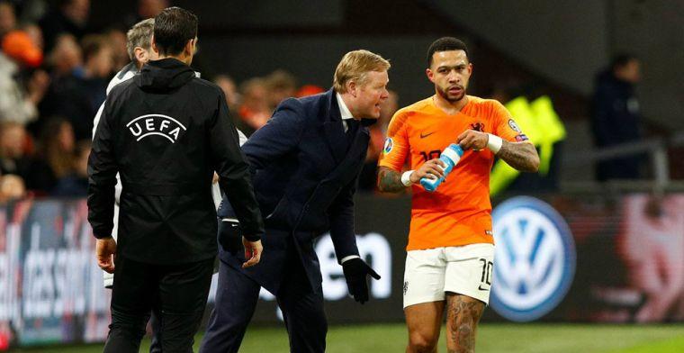 Koeman had na Oranje-Oostenrijk al slecht voorgevoel: Iedereen zag het toch?